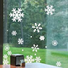 Weihnachten Fenster Schneeflocke Aufkleber Winter Dekorationen