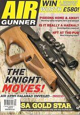 AIR GUNNER 385 April 2016 Hunting Pigeons Arms TX200 HC Jamie Chandler Squirrel