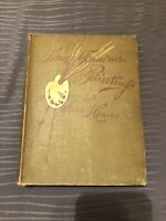 SOME FAMOUS PAINTINGS & THEIR HOMES,1887  Duff,1st Edition Rare Art Book Antique