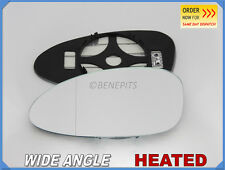Wing Mirror Glass For PORSCHE 968 928 911 1986-98 Wide Angle HEATED Left #PR004