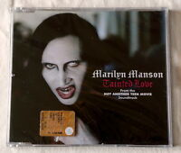 Marilyn Manson Tainted Love Europe 4 tracks cd single part 2 Dark Rock GOTHIC
