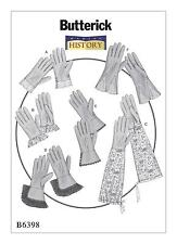 Butterick Costume SEWING PATTERN B6398 Misses Historical Gloves