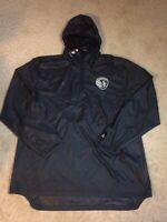 Adidas Sporting KC Soccer Black Lightweight Jacket Windbreaker Size XL NWT