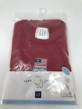 Baby Gap Boy's Tank Johns Pajamas Sleeveless Shorts Size 3XL Fourth of July Set