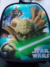 Star wars backpack school bag BNWT Yoda 3d Disney official