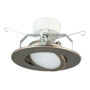 Lithonia Lighting 6 in. Oil Rubbed Bronze Recessed Gimbal LED Module (3000K)