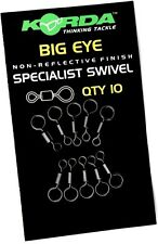 Korda Big Eye Swivels pack of 10 Carp Fishing Rig