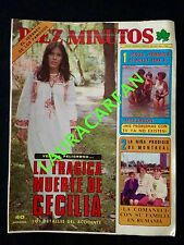 REVISTA 10 MINUTOS Nº1303 AÑO 1976 - NADIA COMANECI LA NIÑA PRODIGIO DE MONTREAL