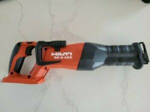 New Hilti Reciprocating Saw Brushless - SR 6-A22 (Tool Only) (New)