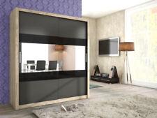 Armoires noirs en verre pour la maison