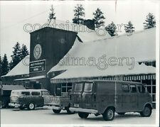 1972 Restaurant in Gilchrist Klamath County Oregon Press Photo