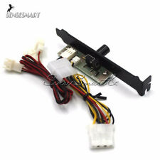 HDD DDR VGA 3 Channels PC Cooler Cooling Fan Speed Controller for CPU Case