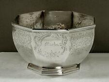 Ball Tompkins Black Silver Bowl c1845 New York