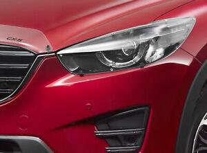 Genuine Mazda CX-5 KE Head Lamp Light Covers Set Protectors Accessory KE11ACHLP