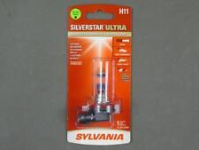 Single Brand New Sylvania Silverstar Ultra H11 Halogen Headlight Lamp Bulb