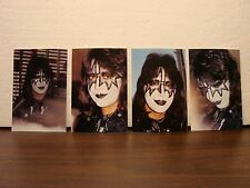 Original KISS Lead Guitar, ACE FREHLEY Candid Radio Station Photos - Unpublished