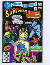 DC Comics Presents #43 DC Pub 1982 in Final Battle