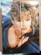 MADONNA Original Vintage Poster ( Half of 1985 Women in Pop Postermag )