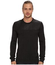 (M) Buffalo David Bitton Wilberk Men's High Fashion Designer Crew Sweater