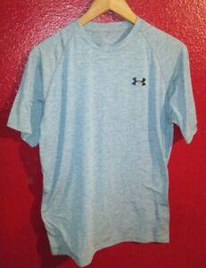 UNDER ARMOUR Gray Men's Size Small Short Sleeve Shirt