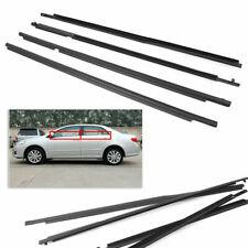4x Car Weatherstrip Window Moulding Trim Seal Belt Fit For Toyota Corolla 07-14