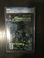GREEN LANTERN # 11 / The new 52! / CGC Universal 9.8 / September 2012