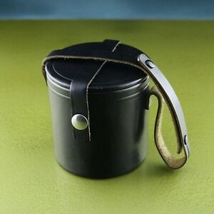 leather CASE LENS BOX quiver EXAKTA FLEKTOGON 2.8 / 35 ZEISS etui bolsa borsa☆☆☆