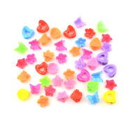 20X Cute Assorted Plastic Lovely Kids Girls Mini Hair Claw Clips Fad WA