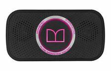 NEW Monster SuperStar HD Bluetooth Speaker, Black/Neon Pink