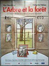 Affiche L'ARBRE ET LA FORET Olivier Ducastel GUY MARCHAND Fabian 120x160cm*