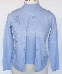 Randolph Duke Sweater & Tank Top Set BRAND NEW 2 pc Twinset Cashmere Blend XS