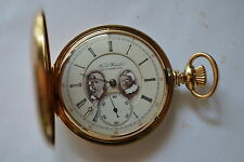 14K GOLD POCKET WATCH FRED BUCHER BALTIMORE MARYLAND 116 GRAMS 1183040MOV