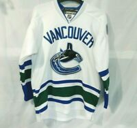 Vancouver Canucks Roberto LUONGO Away Stitched Jersey Reebok Center Ice 50 NHL