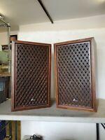 2 Vintage Sansui SP-2000 Speakers 4 way 6 Speaker TESTED