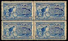 momen: Us Stamps #E6 Block of 4 Mint Og Ph/Nh Cv$1,510
