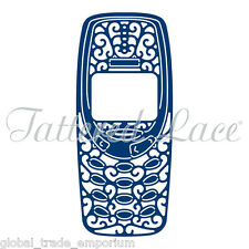 NEW Tattered Lace 'MOBILE PHONE' Cutting Die - D1425 - Papercraft - FREE UK P&P