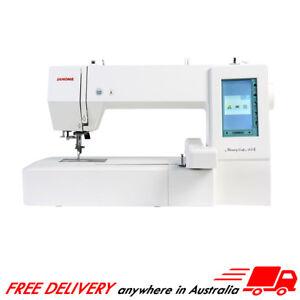 Janome Memory Craft 400E Embroidery Machine USB Design Hoop Monogramming MC400E