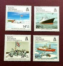 SOUTH GEORGIA 1992 - LIBERATION ANNIV. - FULL STAMP SET - MINT NEVER HINGED