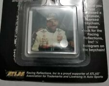 Nascar Original Dale Earnhardt Vintage Keychains- Goodwrench Double-Sided Photos