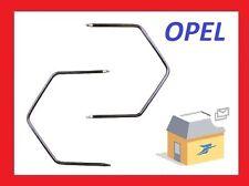 2 clés d'extraction de démontage facade autoradio stereo OPEL Omega DOUBLE DIN