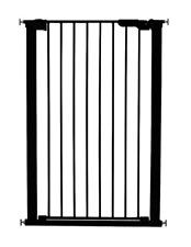 BabyDan 106cm Extra Tall Pressure fit Pet Gate Black