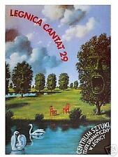 Polish poster by Rafal Olbinski