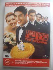 American Pie THE WEDDING DVD - VGC - Recut & Ruder 25 Extra minutes
