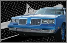 1981-1987 Olds Cutlass Supreme chrome mesh grille grill old school 4 piece