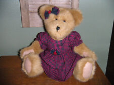 "Boyds Bears Plush ~12"" Frances T. Bearsley~ Qvc Exclusive Best Dressed Bear"