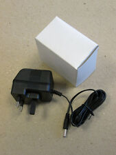 UK 3 PIN DC Power Supply adaptor 6V DC 400mA 230V 50Hz Replacement 3.5mm x 1.3mm