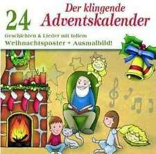 Der Klingende Adventskalender CD NEU Christkind Knecht Rubrecht Advent Glocken