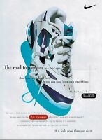 1995 NIKE Air Raceway :  athletic footwear (shoes) Magazine Print AD .