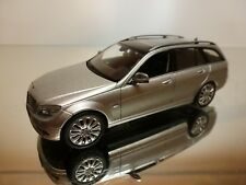 SCHUCO MERCEDES-BENZ C-KLASSE - GREY METALLIC 1:43 - EXCELLENT - 23