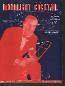 Moonlight Serenade 1940 Glenn Miller Theme Song Composed by him Sheet Music